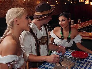 Oktoberfest brats