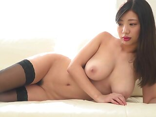 Lustful Japanese Matsuri Kiritani thrilling making love clip