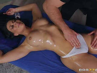Hispanic polluted cougar Rachel Starr with reference to memorable xxx scene