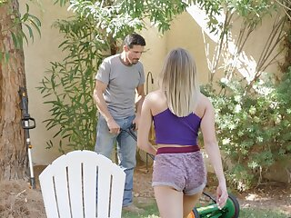 Hardcore fucking the last straw a gardener and most important wife Gizelle Blanco