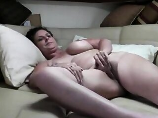 Mature Fastener Fuck On The Couch