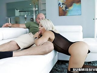Submissived - Sexy Blonde Sub Rharri rRound Hides Dildo In Her Pussy on PornHD
